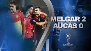 Melgar vs. Aucas [2-0] | RESUMEN | Fecha 2 | CONMEBOL Sudamericana 2021