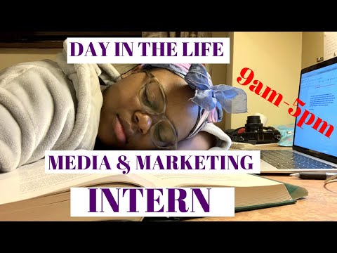 an ACTUAL day in the life of a INTERN (in London)