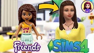 Lego Friends Andrea as a Sim! Sims 4 Create-a-Sim CAS