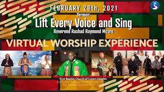 February 28th, 2021: Sunday Morning Virtual Worship Service