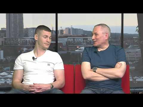 Sheffield Live TV Paul Coutts & Brendan Moore 19.4.18 Part 2