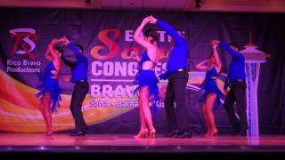 Salsa N' Seattle Bachata Team Performance at Seattle Salsa Congress 2015