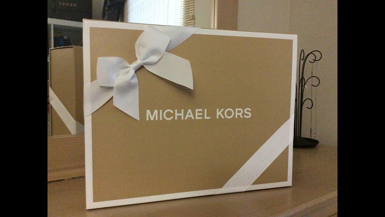 da663daf38 Michael Kors AVA Unboxing Review - YouTube