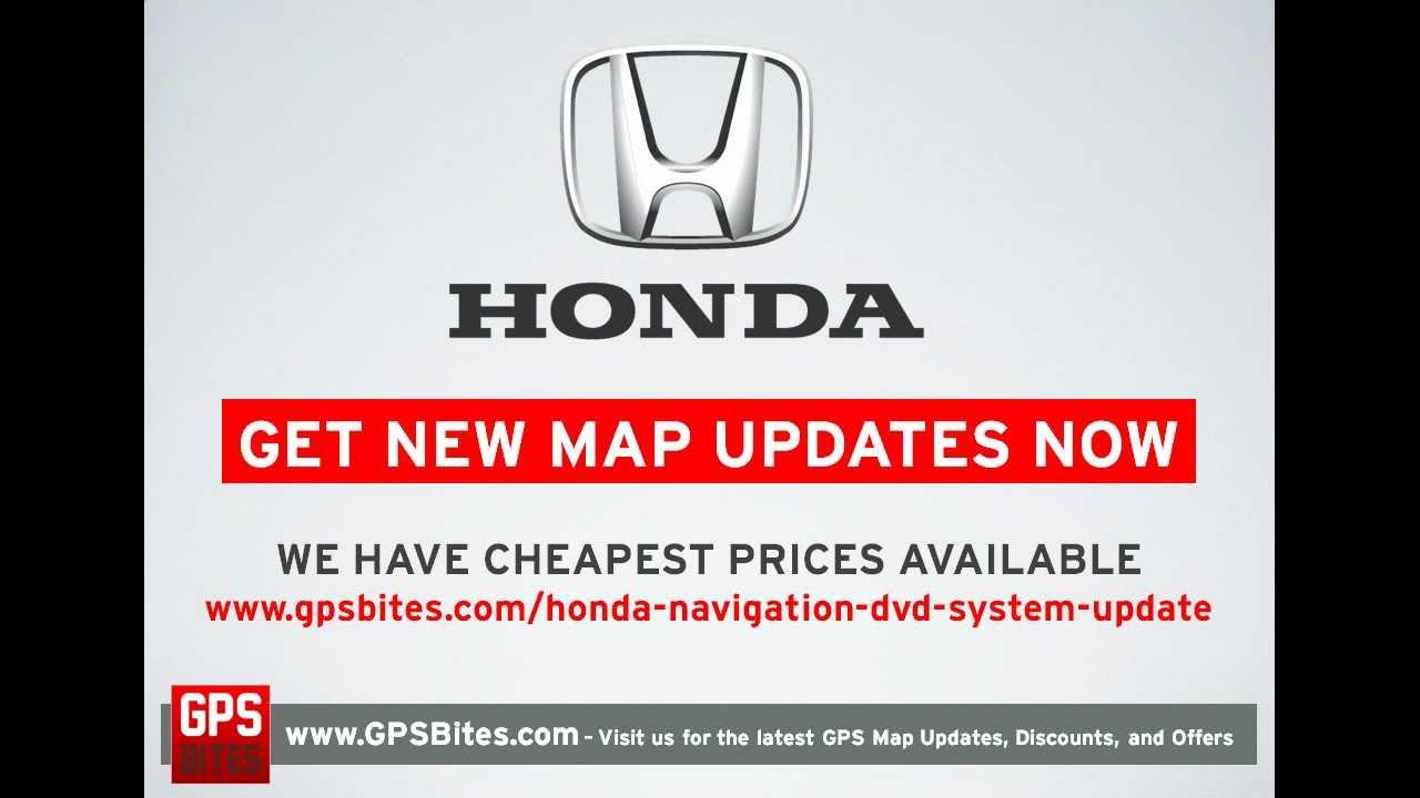 Honda Navigation DVD 2017 - New GPS Updates Available