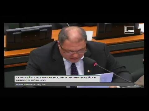 TRABALHO, ADMINISTRAÇÃO E SERVIÇO PÚBLICO - Reunião Deliberativa - 16/08/2017 - 10:28