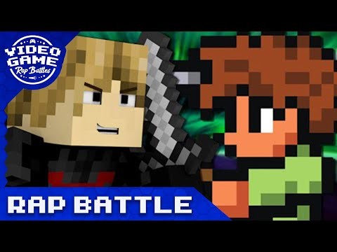 Minecraft vs. Terraria - Video Game Rap Battle (VGRB + JT Music)