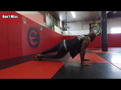 MMA Bodyweight Workout (The Most Powerful Workout On The Planet)