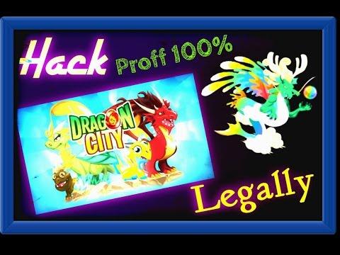 dragon city 100% hacking on Facebook