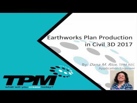 Earthworks Plan Production