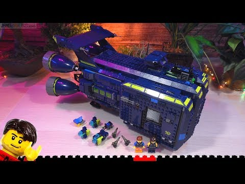 Build ⏩ LEGO Movie 2 The Rexcelsior! 70839 time lapse
