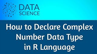 How to declare complex number data type in r