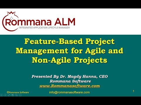 ALM Tools | Feature Based Project Management for Agile and Non Agile Projects