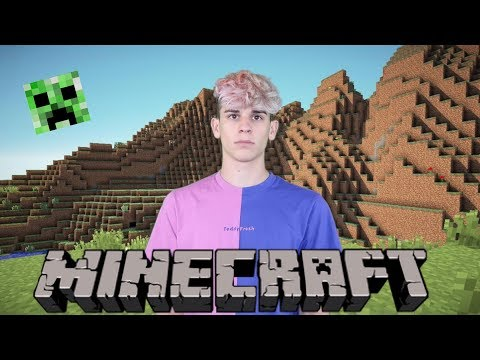 Playing Minecraft FOr The First Time Ever! *help Me*