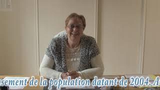 Le maire de Saint-Andeux,Madame Françoise GUERRIER.