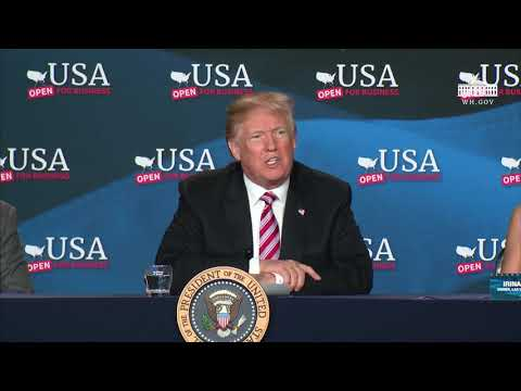 President Trump Hosts the Tax Cuts for Florida Small Businesses Roundtable