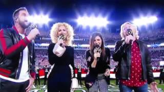 Challenger and National Anthem with Little Big Town!