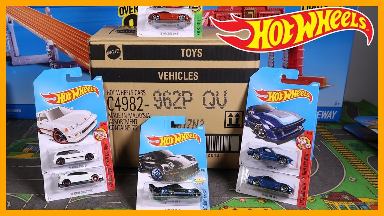 Unboxing Hot Wheels P Case Car Assortment Youtube