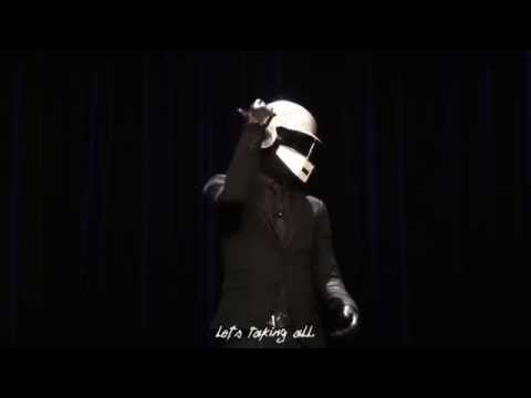 DAFT PUNK DOING STAND-UP COMEDY