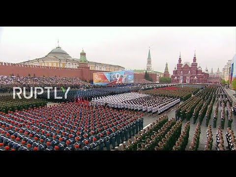 LIVE: Victory Day parade kicks off on Moscow's Red Square (ENG)