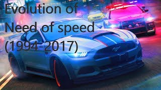 Evolution of Need For Speed (1994-2017)