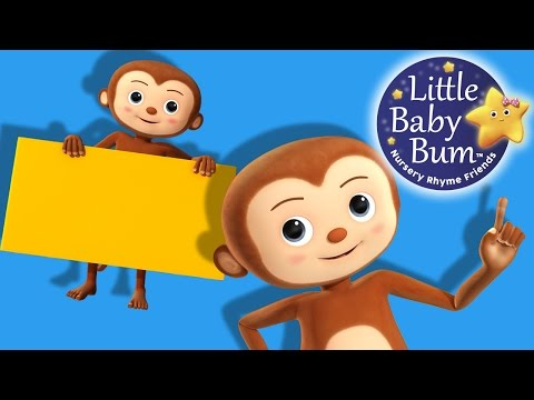 Shapes Song | Rectangles | Nursery Rhymes | Original Song By LittleBabyBum!