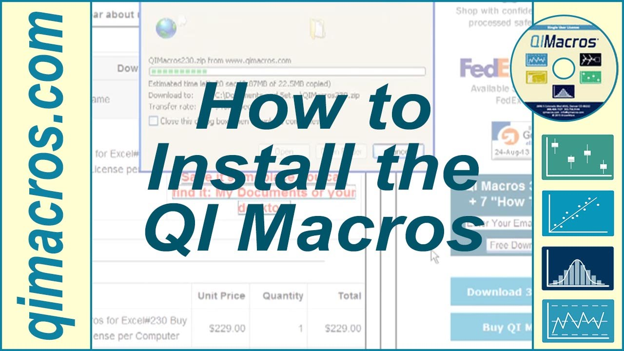 download qi macros for excel 2013