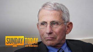Dr. Anthony Fauci To Self-Quarantine After Coronavirus Exposure | Sunday TODAY