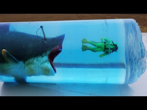 How to make Megalodon Attack Diorama