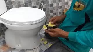 Cara Memasang Toilet Duduk Yang Benar