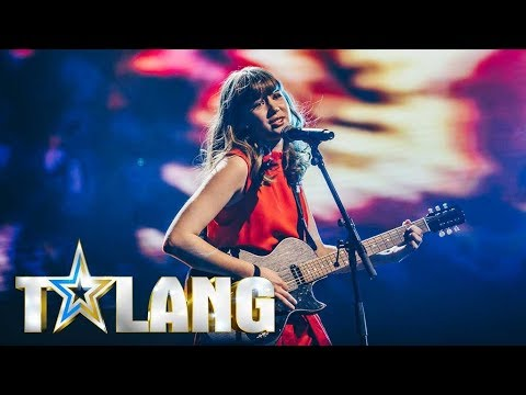 Paula sjunger Sign of the times i Talangfinalen - Talang (TV4)