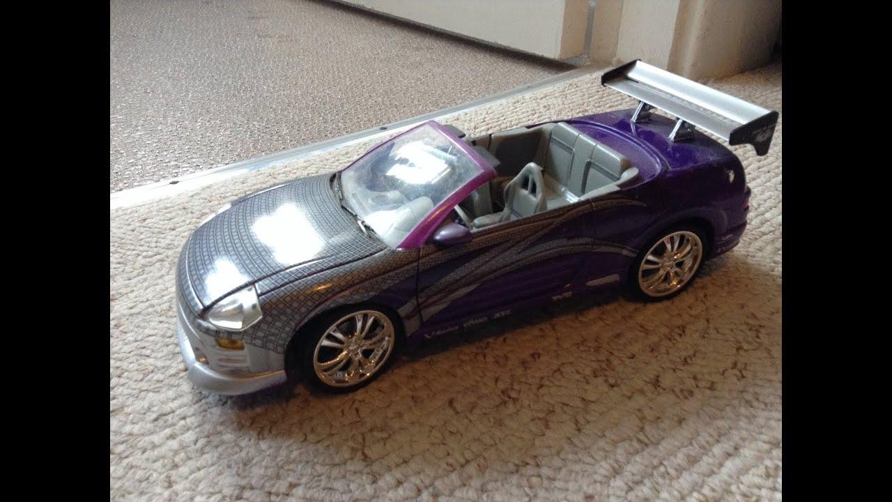 Fast And Furious Mitsubishi Eclipse Spyder Die Cast Ertl