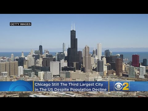 Chicago Still 3rd Largest City In US Despite Population Decline