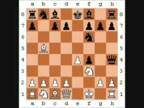 Chess - Adolf Anderssen vs L. Kieseritzky [Inmortal Game]