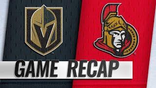 Golden Knights fend off Senators for 5-3 win
