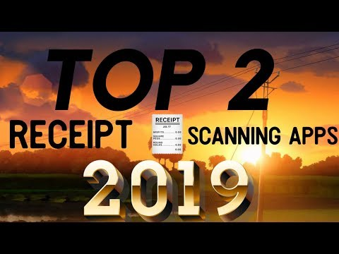 The Top 2 Receipt Scanning APPS (2019📲)