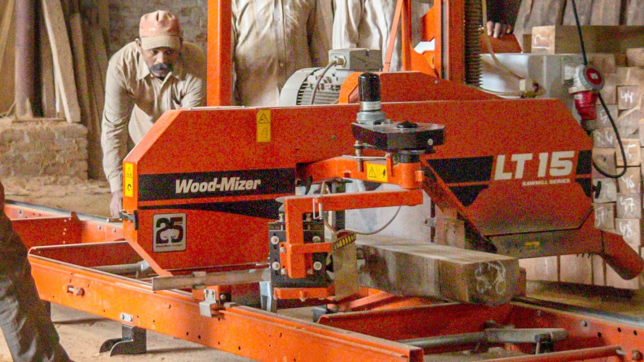New Delhi sawmill getting more from their logs in India and
