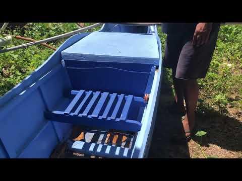 Checking A Pump Boat (banka) For Sale - Poblacion Anda Bohol