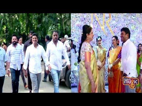 Puneeth Rajkumar Arrives For Nikhil Kumaraswamy Engagement