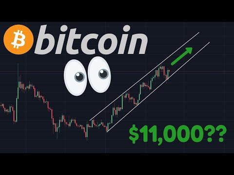 BITCOIN $11,000 TARGET RIGHT NOW??? | 0.5 $Billion BTC Moved For $0.71 Fee!!