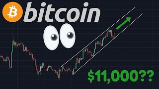 BITCOIN $11,000 TARGET OR $8,500 GAP? | 0.5 $Billion BTC Moved For $0.71 Fee!!