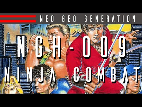 NGH-009: Ninja Combat - Every Neo Geo Game Reviewed