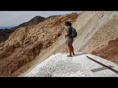 Hiking Death Valley National Park - Moorehouse Mine Tunnels Exploration
