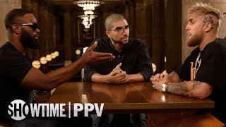 Jake Paul vs Tyron Woodley - MVP FACE 2 FACE