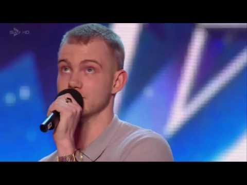The best and most beautiful voice in Britains got talent.