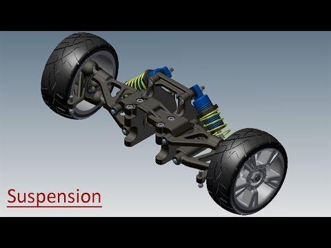 Suspension SolidWorks Tutorial