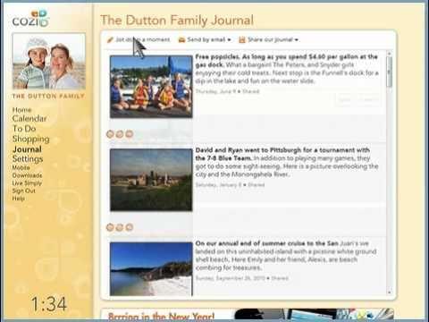 Cozi Free Family Calendar Mobile App Youtube