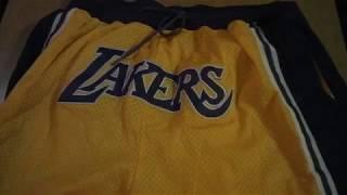 Шорты Los Angeles Lakers Just Don магазин BASKET FAMILY