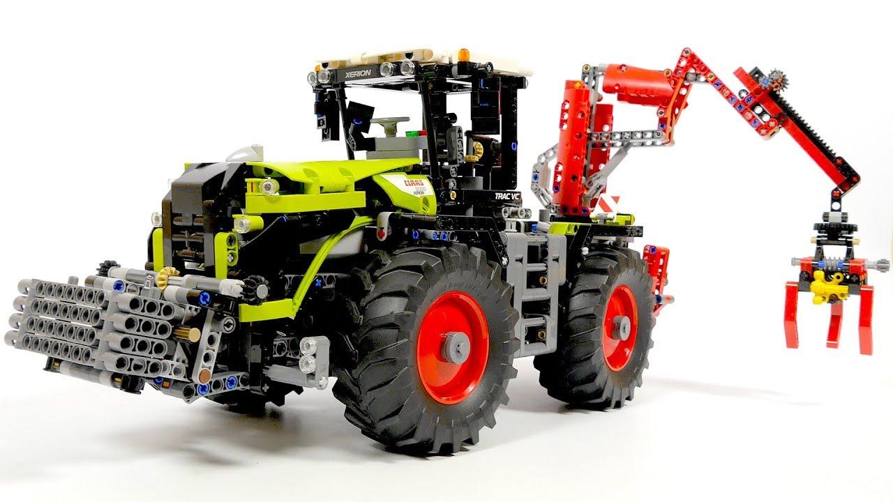 Lego Technic 42054 Claas Xerion 5000 Trac Vc Youtube