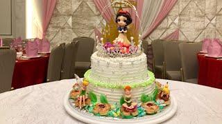 ❤️白雪公主 雙層蛋糕《????by Love Macaroons????》