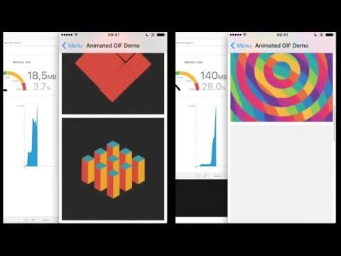 Nuke+FLAnimatedImage: GIF Performance (iPod Touch 5G, 512 Mb RAM) thumbnail